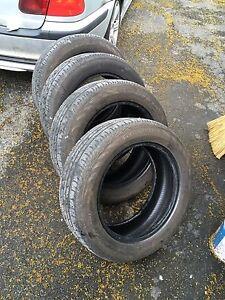 4 x 205 55 16 Continental Contiprocontact SSR Run Flats pneus