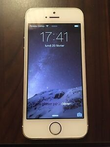 iPhone 5S gold 16g rogers