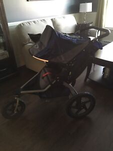 BOB stroller and accessories