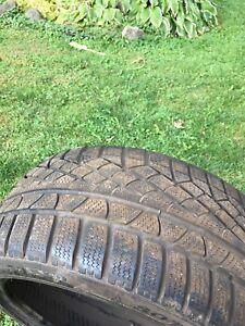 4 Pirelli hiver 245 40r18