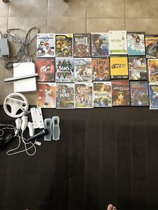 Wii console + Wii Fit + 30 games