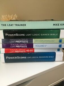 LSAT Books And Preptests