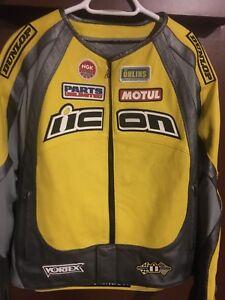 Men's ICON Leather Merc Hero Jacket