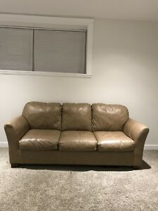 Leather Couch Price Reduced!!