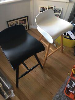 Matt Blatt designer replica kitchen stools
