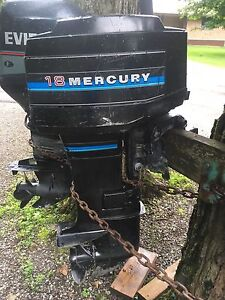 Outboard engine merc 18 hp