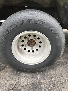 5x5.5 rims with tires 400$ obo takes them