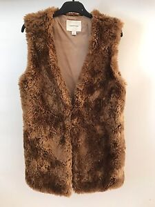 Country Road Faux Fur Vest - Size Small Ivanhoe Banyule Area Preview
