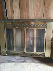 Fireplace Screen/Glass