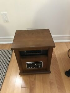 NOMA Wood Cabinet Infared Heater