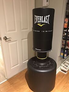 Punching bag Everlast sur pied