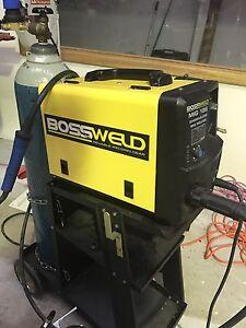 Bossweld 186amp MIG welder *near new condition* Littlehampton Mount Barker Area Preview