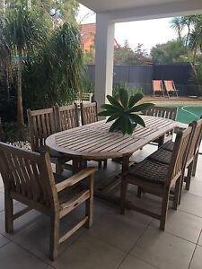 Teak Outdoor Furniture Cronulla Sutherland Area Preview