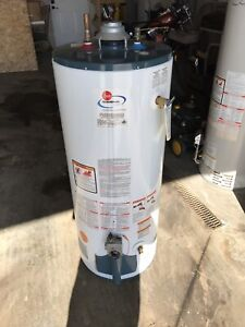 Used 40 gallon water heater