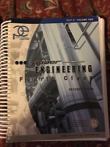 TSSA 4th class Stationary engineer books