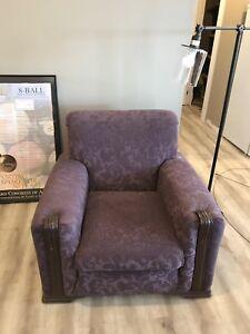 Retro chair in purple!