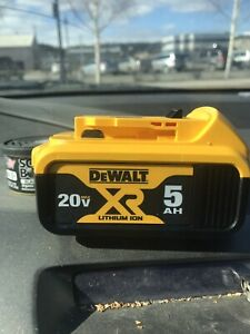 Dewalt 5 amp lithium ion batteries