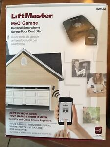 LiftMaster MyQ Garage door App and opener