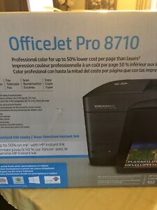 HP Officejet Pro 8710 BNIB Sealed Retail $229.97