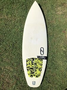 "6'6"" FireWire Gamma surfboard"