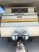 Pop top caravan with a new full anex Trafalgar Baw Baw Area Preview