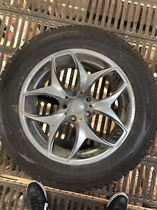 BMW X5 winter rims and tires for sale