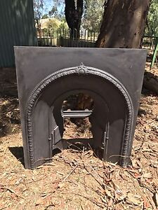 Antique/Vintage Cast Iron Fireplace Surrounds/Fascia Kooringal Wagga Wagga City Preview
