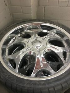 22 inches crome rims for dodge ram