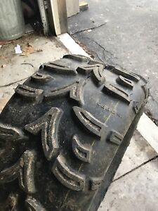 Full set of ATV tires