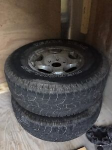 6 bolt GM Rims/Tires