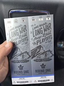 Leafs vs Capitals Playoff Tickets