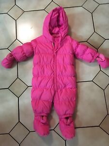 Baby gap downfilled snowsuit. 6-12