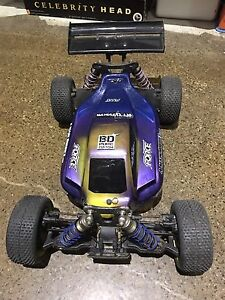 Three x 1/8 electric rc buggies XRAY 808s McDowall Brisbane North West Preview