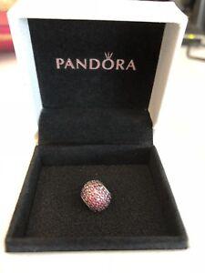 Pink Pave Pandora Charm