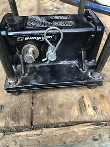 Bumper hitch receiver