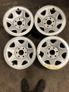 """17"""" Rims off of a GMC SIERRA with sensors"""