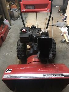 Mastercraft snowblower
