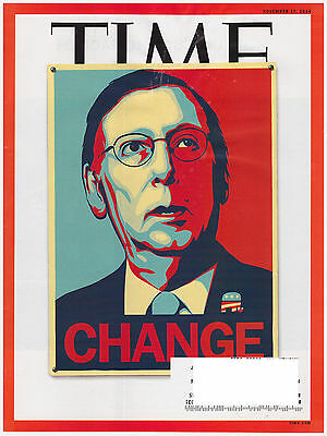 Time Magazine September 14  2014 Mitch Mcconnell  Xi Jinping  War Vets  Bob Hope