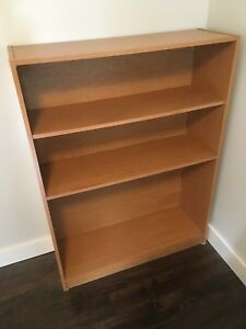 Solid wood Bookcase with adjustable shelves for sale- 35$
