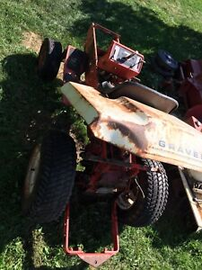 Gravely parts tractor 810 812 814 816 817 819