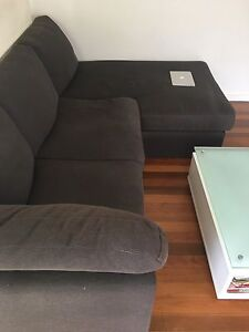 Lounge / couch 2-3 seater with chaise Windsor Brisbane North East Preview
