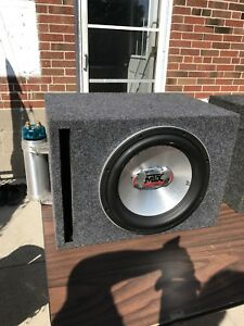 RTX Woofer -12 inch with Box & Capacitor