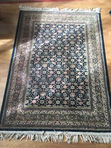 5x7 Persian-style rug, made in Turkey