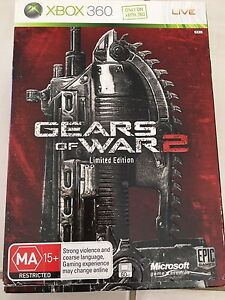 Xbox 360 Gears of War 2 Limited Edition 2008 (Used) Burton Salisbury Area Preview