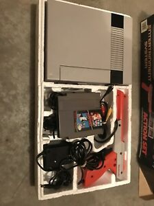 Nintendo NES original system in the box