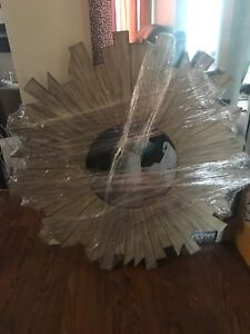 "***Brand New, Wood Accent Mirror 39""***"