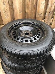 17 inch winter rims and tires 5x114.3