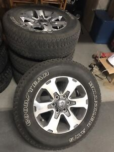 """18"""" tire and rim combo, Fits 2004-Current F-150"""