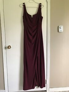 Burgundy Dress from LE CHATEAU