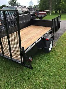 "6'.6"" by 12' utility trailer"
